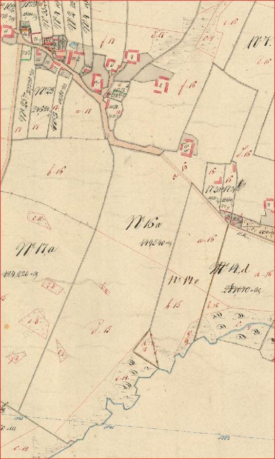 Fil Rarup Matr Nr 16a Kort Gyldig 1851 1870 Jpg Min Jyske Slaegt